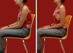 posture sitting